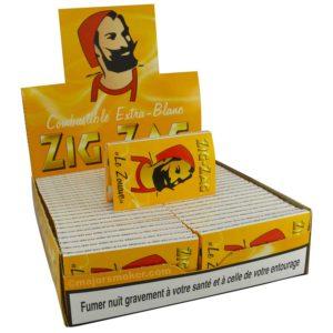 papier à rouler pour cigarette ZIG ZAG