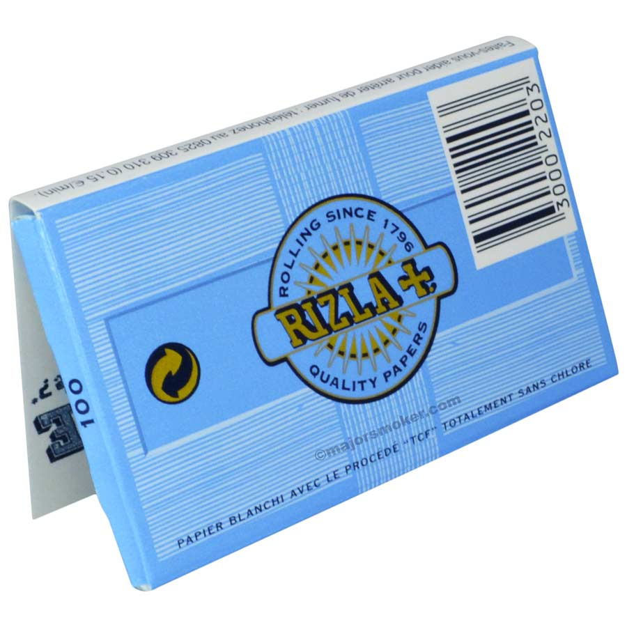 Rizla bleu regular feuille papier rouler major smoker - Prix essence zippo bureau tabac ...