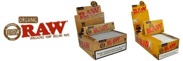 raw slim, feuille raw, feuille raw xxl, fauillle raw avec carton, raw feuille a rouler, raw geante,
