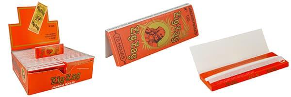 ZIG ZAG 1 1/5 papaier à rouler format espagnol