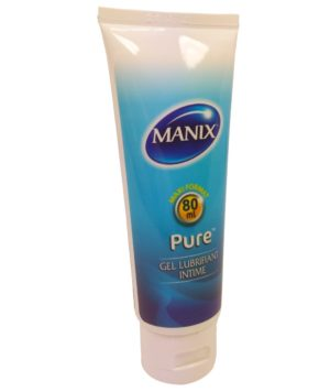 Gel lubrifiant pas cher, Lubrifiant gel prix, Gel lubrifiant manix pure, Lubrifiant manix, Manix gel Pure 80ml
