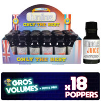 Jungle juice poppers, poppers jungle juice, achat poppers, poppers prix, poppers pas cher, effet du poppers, poppers achat, display poppers jungle juice, boite poppers jungle juice