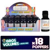 Jungle juice poppers, poppers jungle juice, achat poppers, poppers prix, poppers pas cher, effet du poppers, poppers achat, display poppers jungle juice, boite poppers jungle juice
