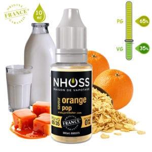 E-liquide NHOSS, Nhoss orange pop, E-liquide, e liquide, e-liquide gourmand orange, e liquide saveur orange-pop, e-liquide pas cher, eliquide, eliquid France, e-liquide France, e liquide français, e liquide français pas cher, PG 65% / VG 35%, PG 50% / VG 50%